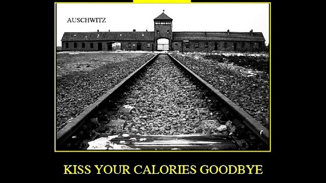 In Insane New Ad, Gym Likens Itself to Auschwitz Because It's 'A Calorie Concentration Camp'
