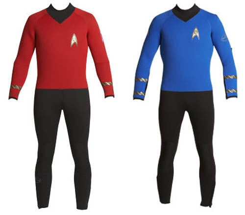 Star Trek Wetsuits For Exploring the Deep Side of the Pool