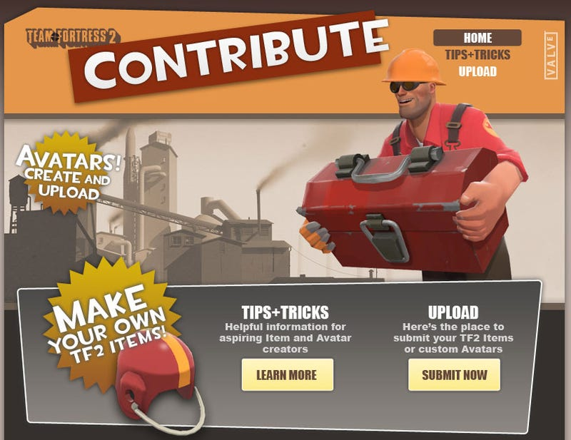 Design A Team Fortress 2 Weapon, See It Appear In The Game
