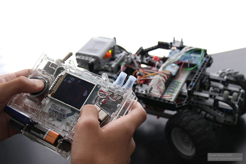 High School Student Builds Kickass Custom Remote-Controlled Lego Car