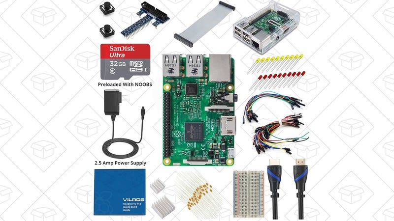Start Your Raspberry Pi 3 Adventure With This Discounted Starter Kit