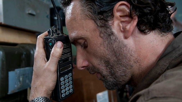 Rick finally meets someone crazier than he is in the best Walking Dead episode ever