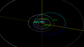 On Friday, asteroid 2014-YB35 is expected to make its closest approach to Earth. Traveling at over 23,000 mph (37,000 km/h), NASA says the 6.2 mile (1,000 meter) asteroid won't get any closer than 2.7-million miles (4.4 million km). That's nearly 12 times the distance from Earth to the Moon – so relax.