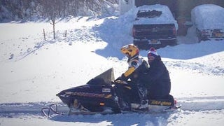 The Bills Dispatched Snowmobiles To Get Players Out Of Buffalo