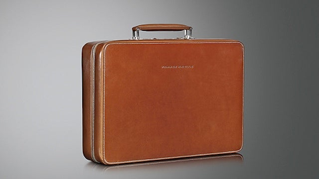 A Classic Briefcase Stays Relevant in the Laptop Era