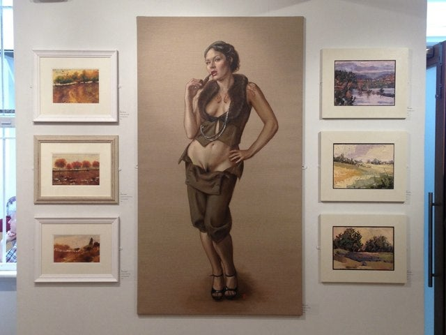 Gallery Removes Painting Because Some People Can't Handle Pubic Hair