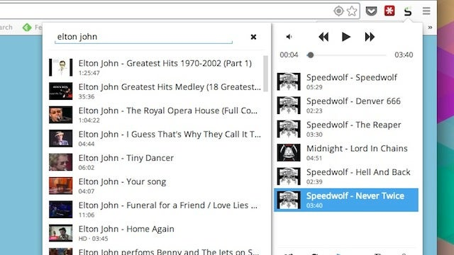 Streamus Turns Chrome Into a YouTube Powered Music Player