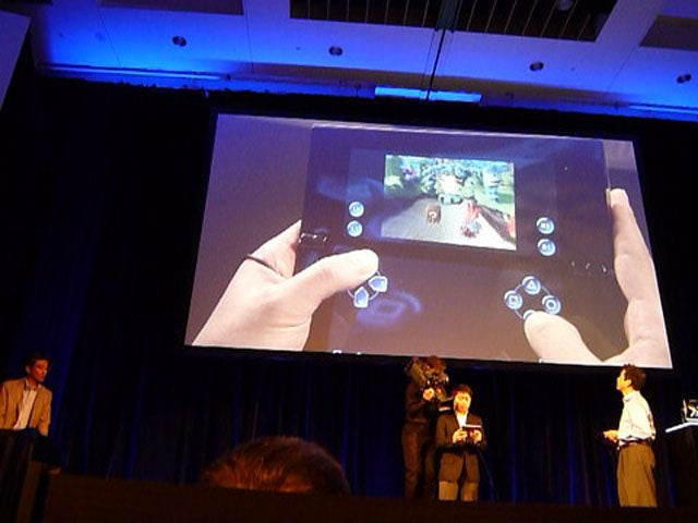 Sony PlayStation Tablets' Touchscreen D-Pad In Real Life