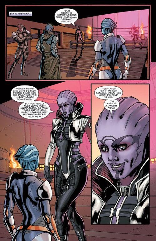 A Peek Inside Mass Effect Redemption #2