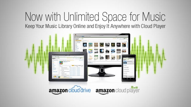 Amazon Cloud Player Now Offers Unlimited Space for Music