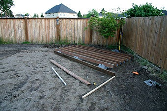 How to build your own backyard deck