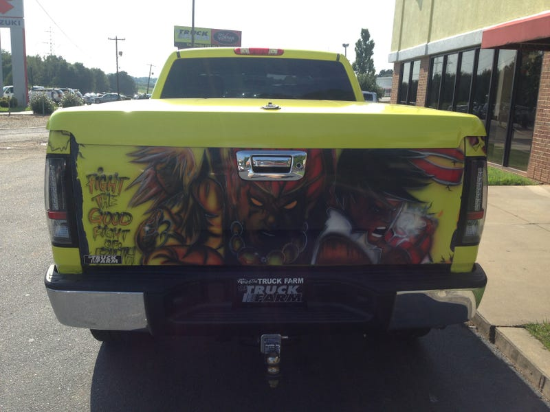 The 'Street Fighter For God' Silverado Is A Hadoken Of Awesomeness