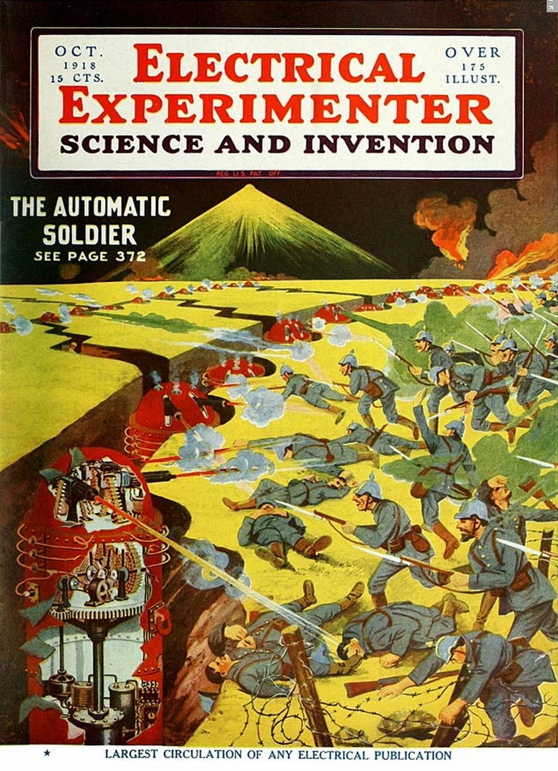 Tremble before the Daleks of 1918