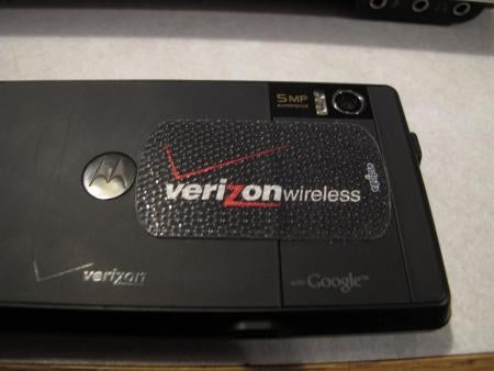 Verizon Literally Puts a Band-Aid on Droid's Problematic Battery Door