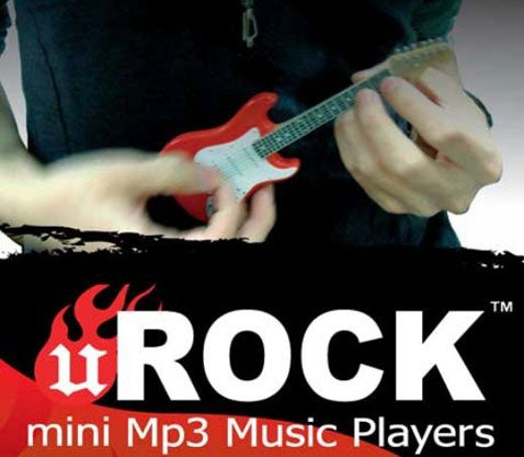 uRock MP3 Player and Speaker Amp is Fit for Smurfs
