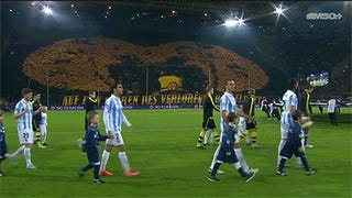 Dortmund's Tifo Can See Into Your Soul