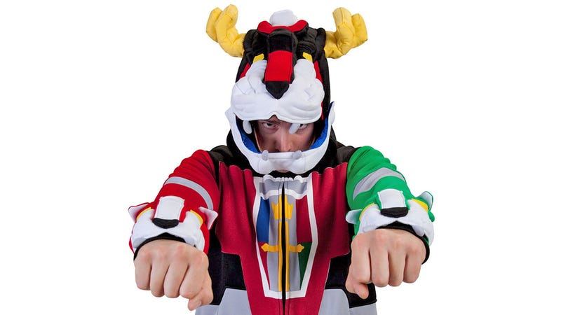 An Amazing Voltron Hoodie, No Assembly Required