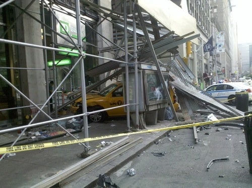 Another Day, Another Cab Crashes into a Building