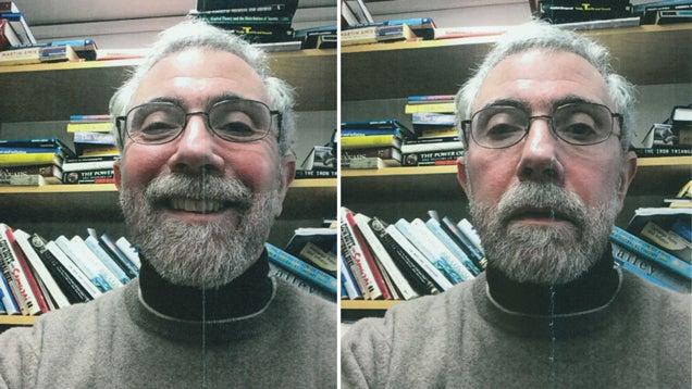 Here Are Paul Krugman's Selfies