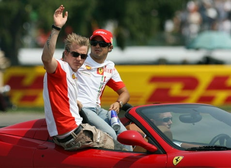 Whither the Iceman? Ferrari to Show Kimi Raikkonen the Door?