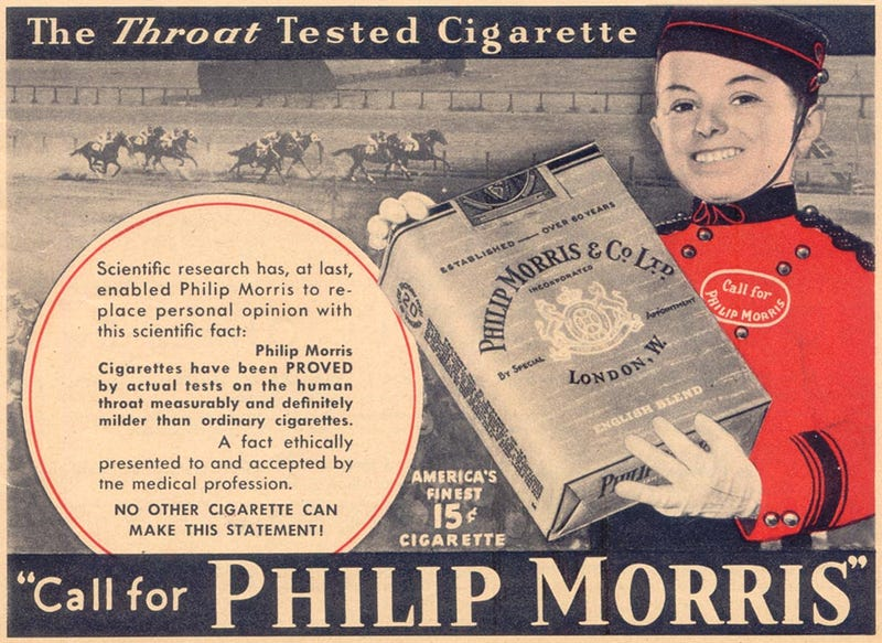 14 Absurd Ads From Before We Knew Cigarettes Could Kill You