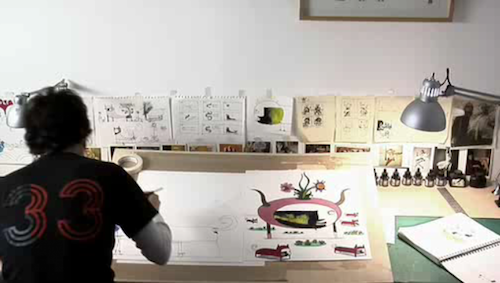 A Look at the Desks of Some Extraordinarily Creative People