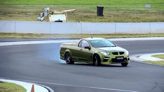 Watch Chris Harris' Tire-Smoking Ode To The Last Legendary Aussie V8