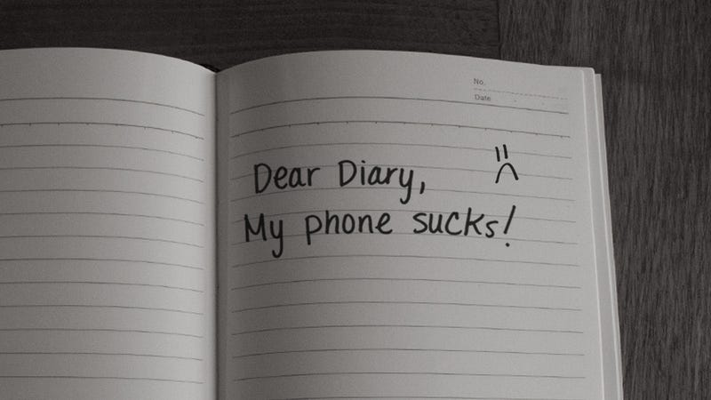 """My smartphone gave me tentacles!"" A diary"