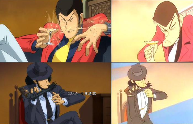Lupin the Third, A Visual Comparison