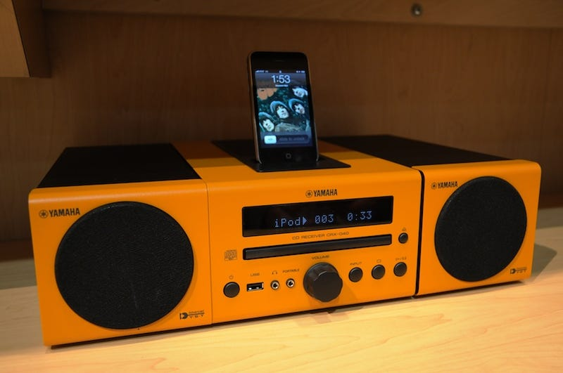 Yamaha's MCR-140 Wireless iPod Dock Sounds As Fantastic As It Looks