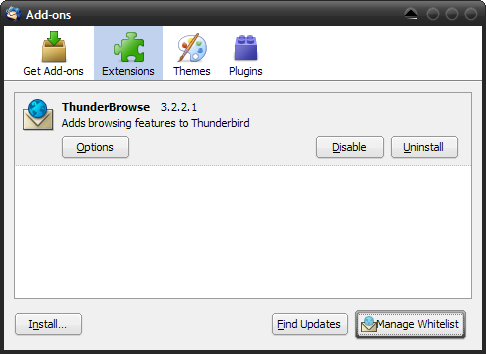 Thunderbird 3 Beta 1 Now Available