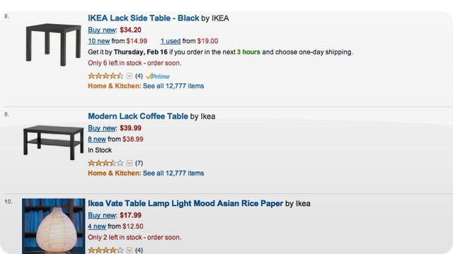 You Can Buy Ikea Products on Amazon