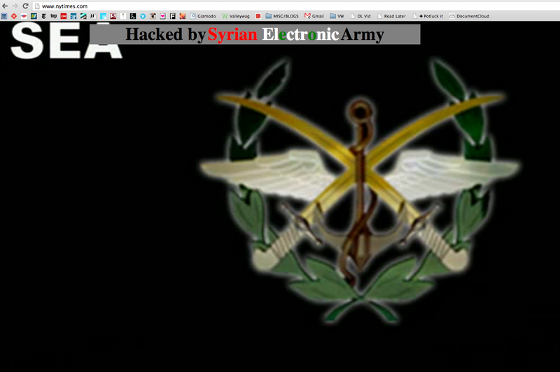 Syrian Electronic Army Hacks New York Times, Twitter