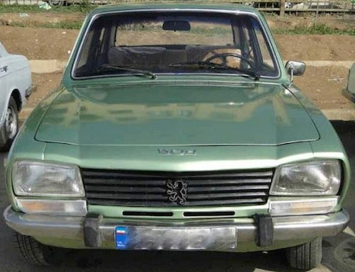 Ahmadinejad Frees '77 Peugeot; Rest Of Iran Not So Lucky