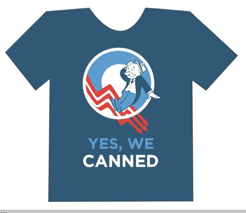 Laid-Off Media Elites' Club Achieves T-Shirt Status