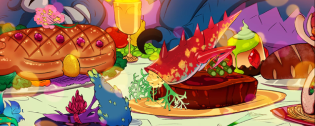 If Iron Chef Was Made By Studio Ghibli, And Was A Video Game