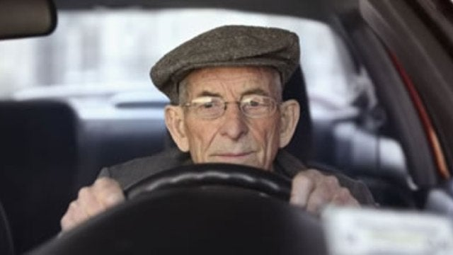 Elderly drivers could hold a key to the neurology of depression