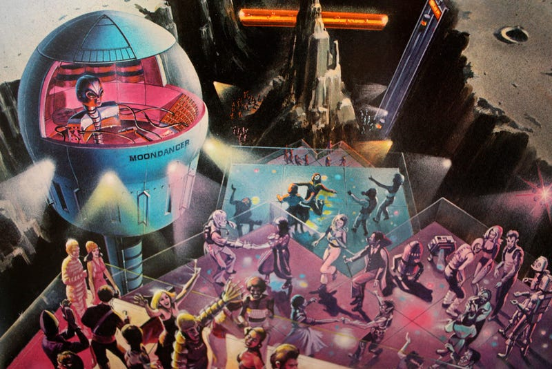 Galactic 1970s Album Covers Are All Robot Nipples And Space Cocaine