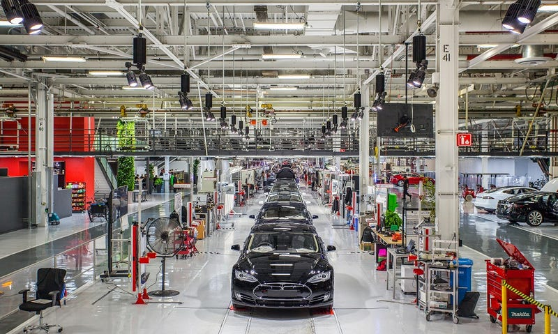 Tesla Is Now Gunning To Produce Half A Million Cars Annually By 2018