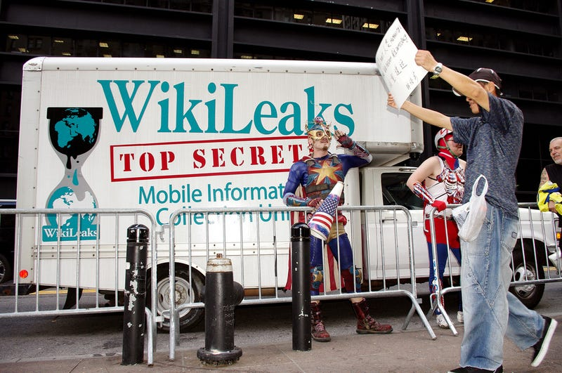 The Wikileaks Truck Is For Sale