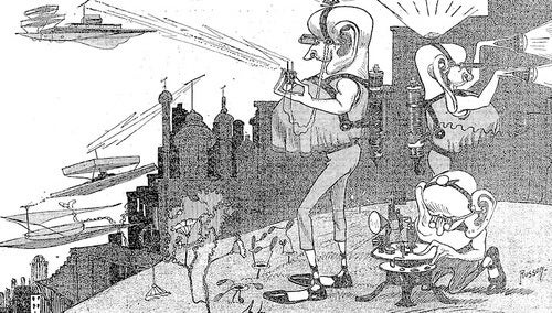 Jazz Age Scientists Imagined Life on Mars on the Cover of the New York Times
