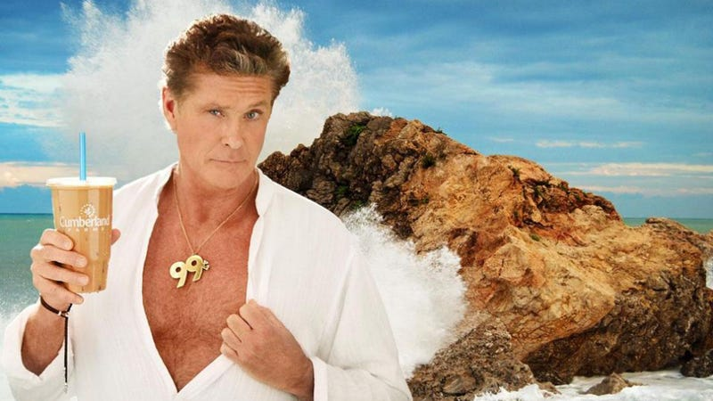 Man Critically Injured Trying to Rescue a Stolen David Hasselhoff Ad