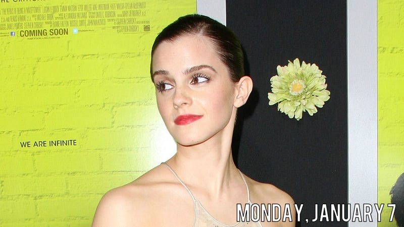 JFK Stops Emma Watson To Ask Her Where Mommy And Daddy Are