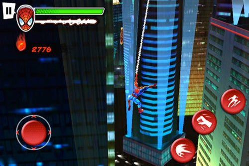 Spider-Man: Total Mayhem App Puts Web-Slinging In the Palm of Your Hand