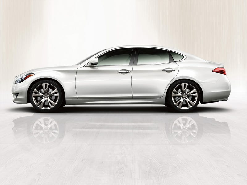 2011 Infiniti M Revealed At Pebble Beach