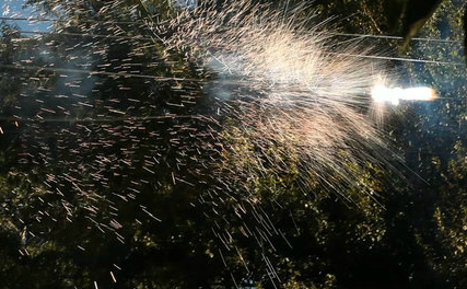 Watching Power Lines Explode Is a Little Bit Like Watching Fireworks