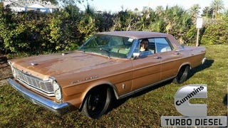 Rollin To The Coaldies In A '65 Galaxie TurboDiesel