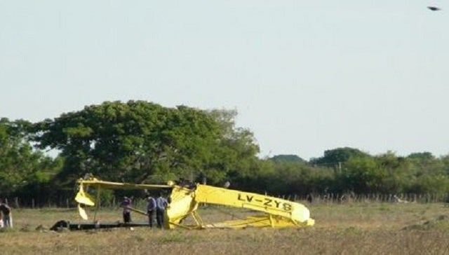 Did a UFO cause this plane to crash in Argentina?