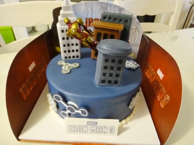 South Korea Got an Official Iron Man 3 Cake