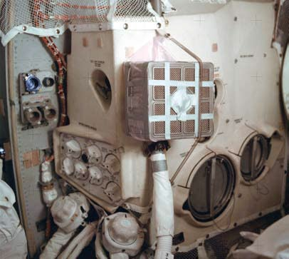 How NASA MacGyvered the Crippled Apollo 13 Mission Safely Home